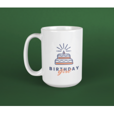 Birthday Girl Supersize Mug