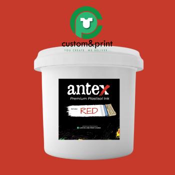 Red Plastisol Ink