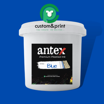 Blue Plastisol Ink